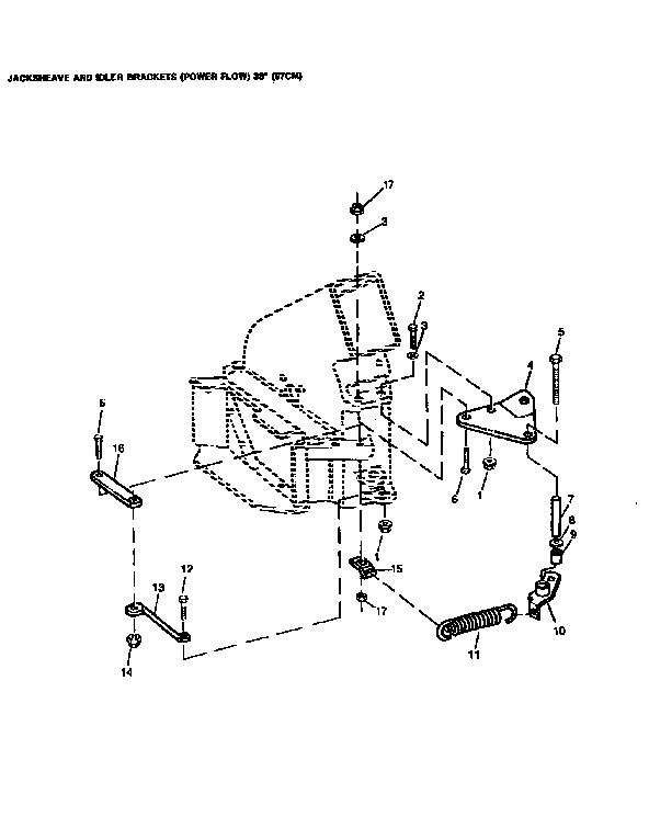 Sabre model SABRE/JOHN DEERE tractor attachments genuine parts
