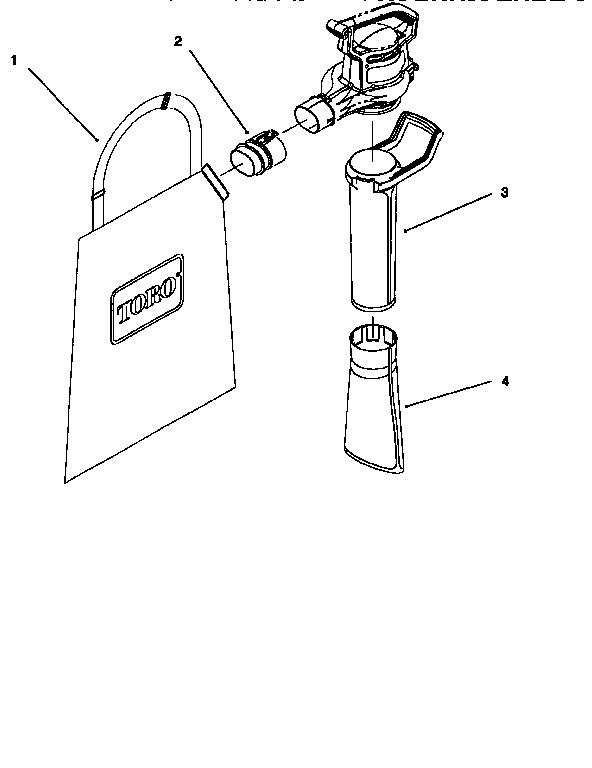 Toro model 51582 blower, electric genuine parts