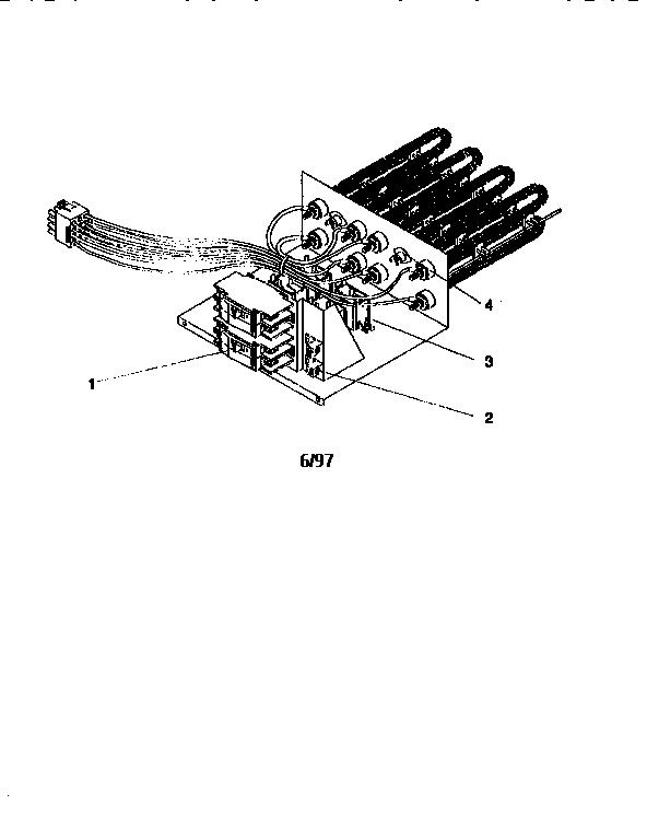 Icp model AMFK10AHB1 air handler-auxiliary heater kit