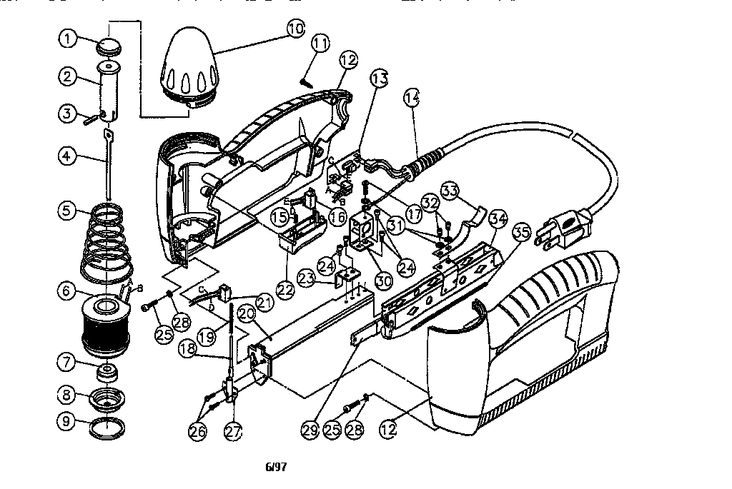 Craftsman electric stapler manual
