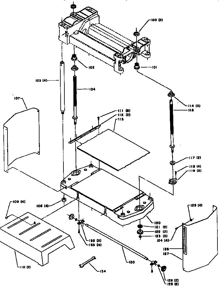 Delta model 22-540 planer genuine parts