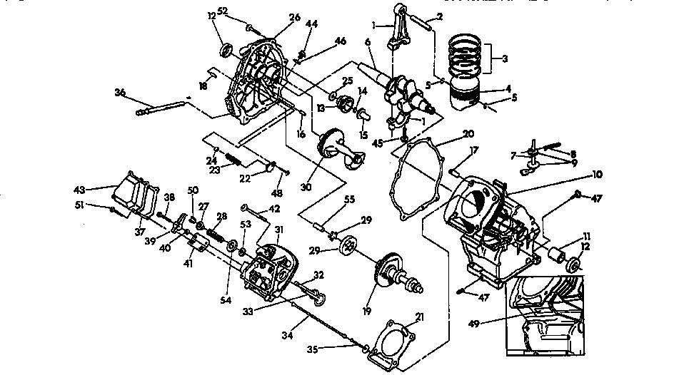 Craftsman model 580676550 generator genuine parts