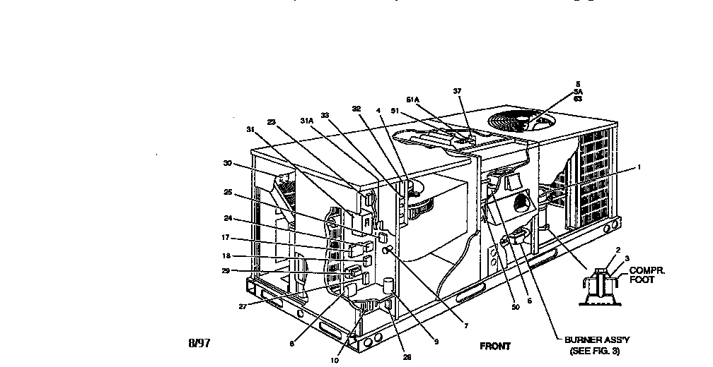 York model D7CG036N04025MA package units(both units