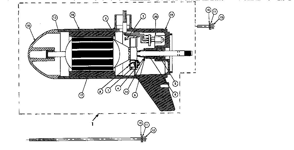 Motorguide model F43V boat motor electric genuine parts