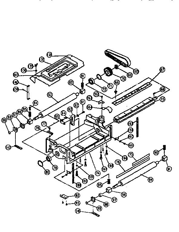 Ryobi model AP-12 planer genuine parts