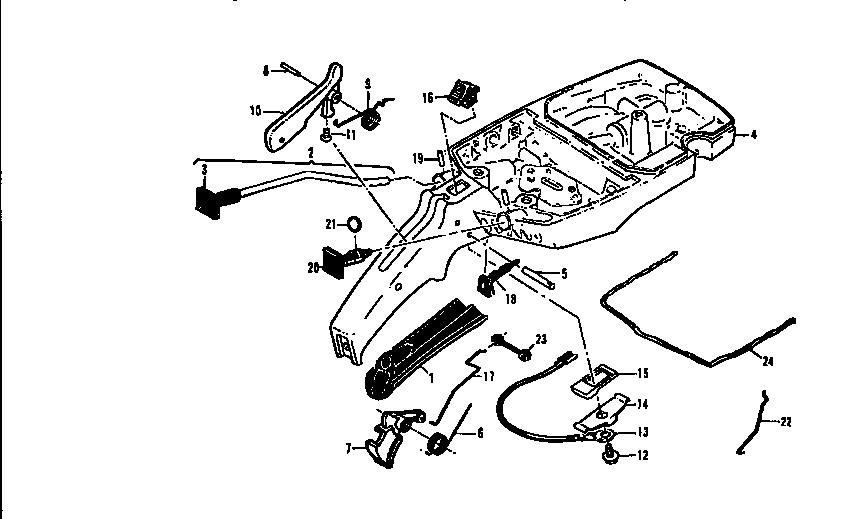 Mcculloch model PRO MAC 700 MODEL 600116-02 chainsaw