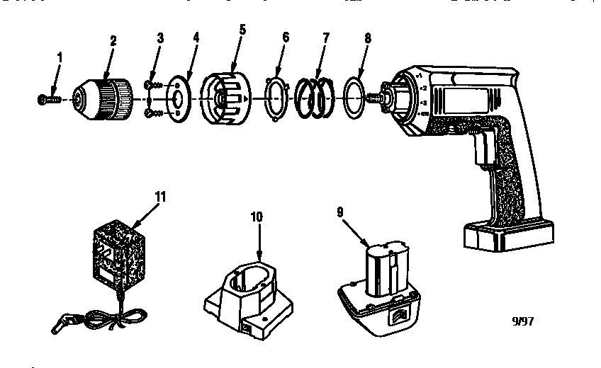 Craftsman model 315111790 drill-misc craftsman genuine parts