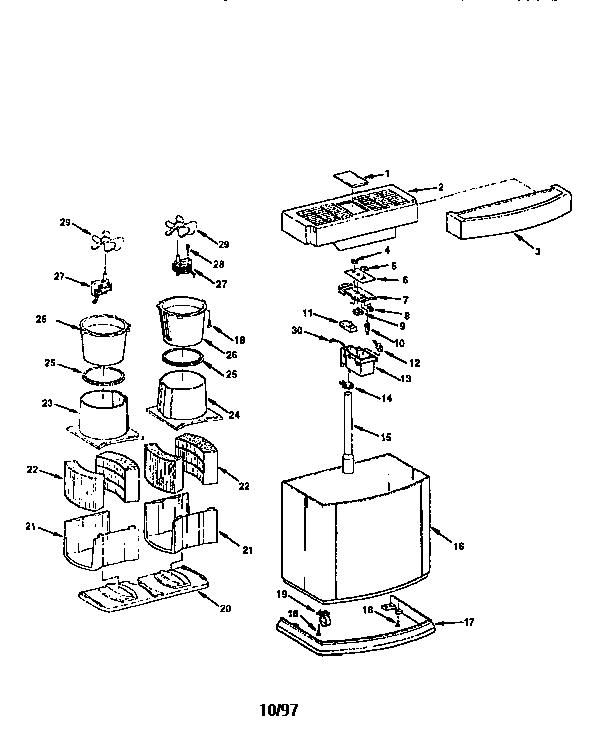 Kenmore model 758144522 humidifier genuine parts
