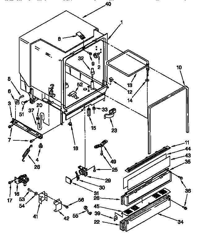 Whirlpool model DU940QWDG6 dishwasher genuine parts