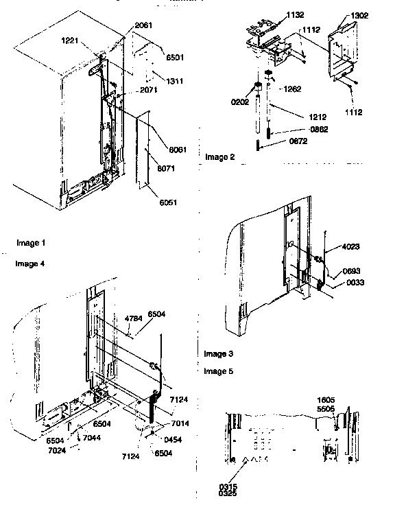 Kenmore model 59657085791 side-by-side refrigerator