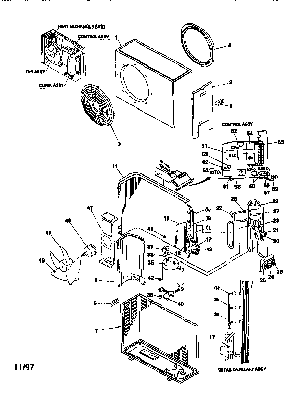 Mitsubishi model FDC180HA air-conditioner/heat pump