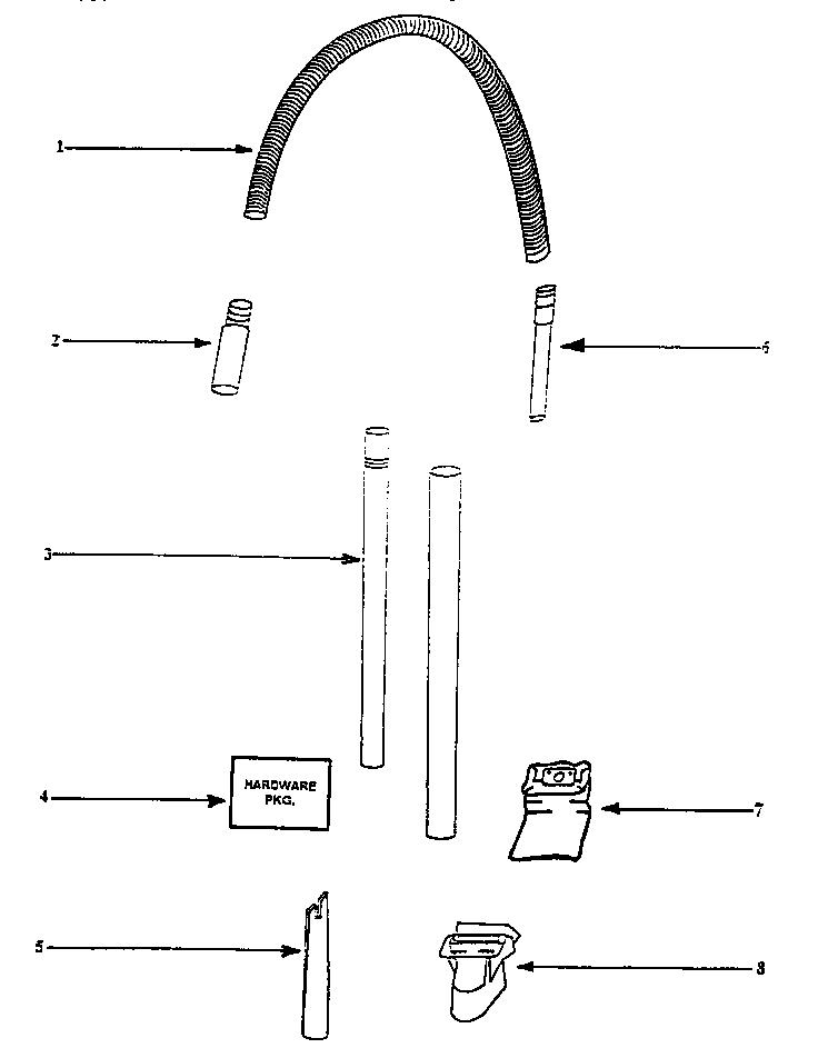 Eureka model 4475AT vacuum, upright genuine parts