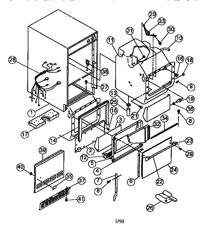 Viking-Range model VUIM180 freestanding icemaker genuine parts
