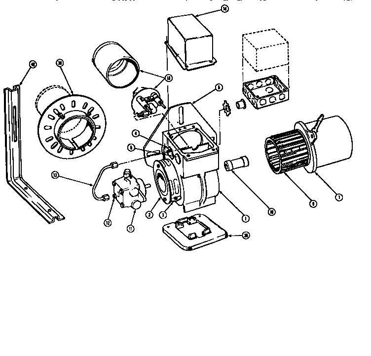 oil furnace parts diagram house wiring schematic beckett model af burner genuine