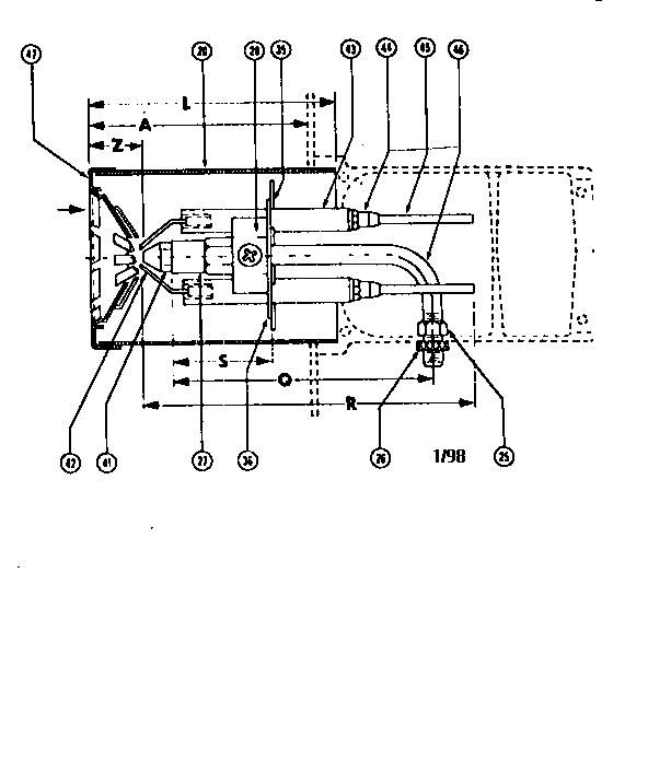 oil furnace parts diagram 6 pole trailer plug wiring beckett model sr burner genuine air