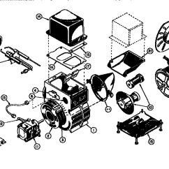 Oil Furnace Parts Diagram 120 240 Volt Motor Wiring Beckett Model Afg Burner Genuine Unit