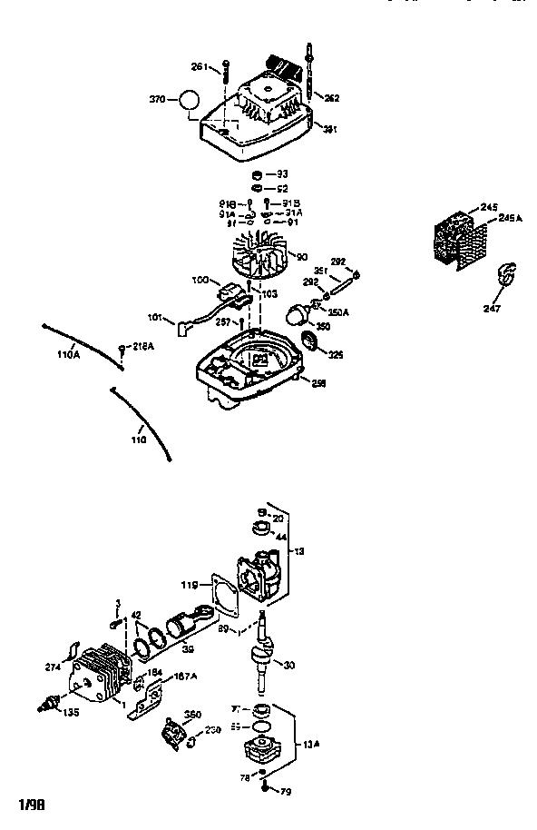 Coleman model PM0301010 generator genuine parts