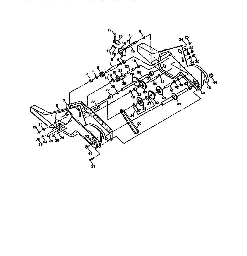 Craftsman model 917293401 rear tine, gas tiller genuine parts