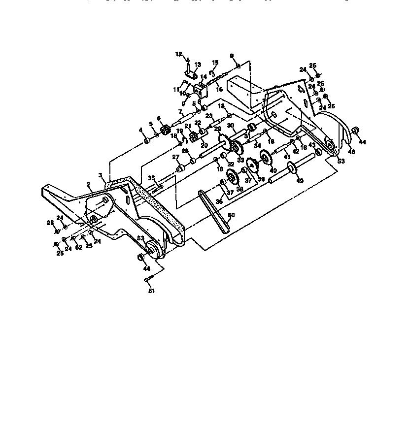 Craftsman model 917293200 rear tine, gas tiller genuine parts
