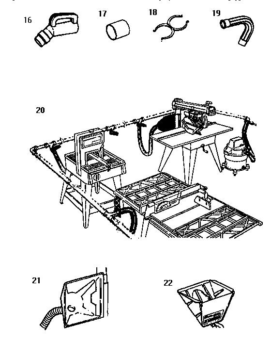 Craftsman model 113177805 wet/dry vacuum genuine parts