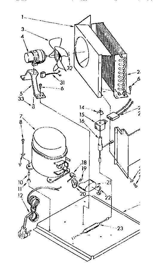 Sub-Zero model 505ISC freestanding icemaker genuine parts