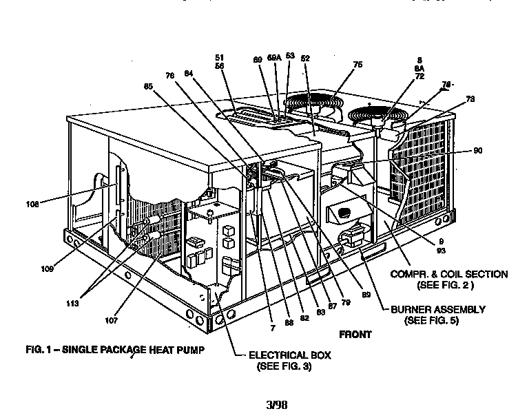 Wiring Diagram Database: Heat Pump Diagram Of Parts