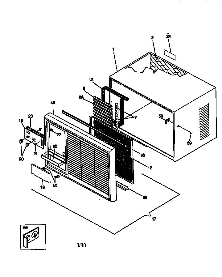 Kenmore model 25378156890 air-conditioner/heat pump