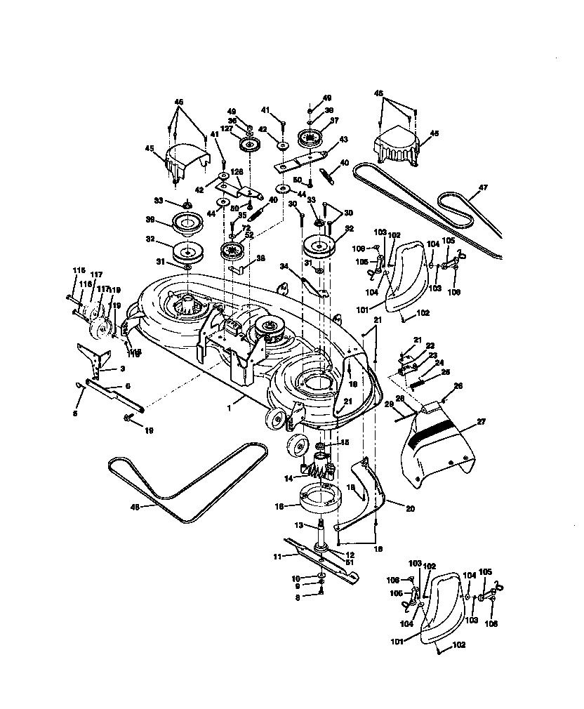 Craftsman Mower Model Number Location, Craftsman, Free