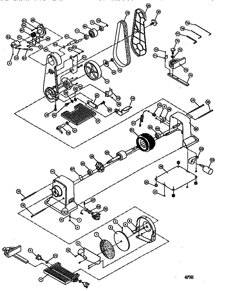 Craftsman model 137283300 sander genuine parts