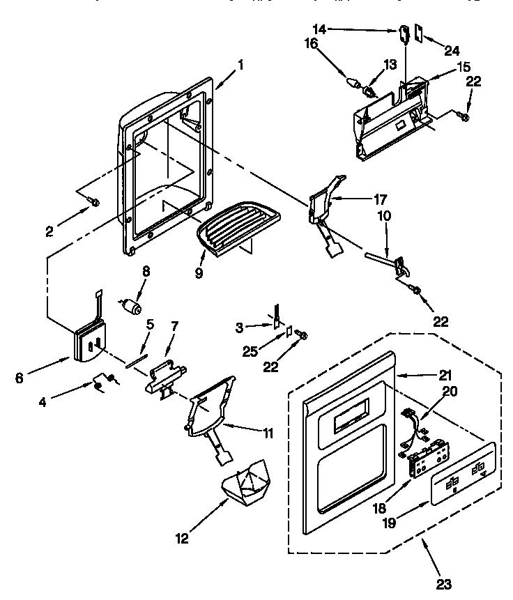 Kenmore model 10657752790 side-by-side refrigerator