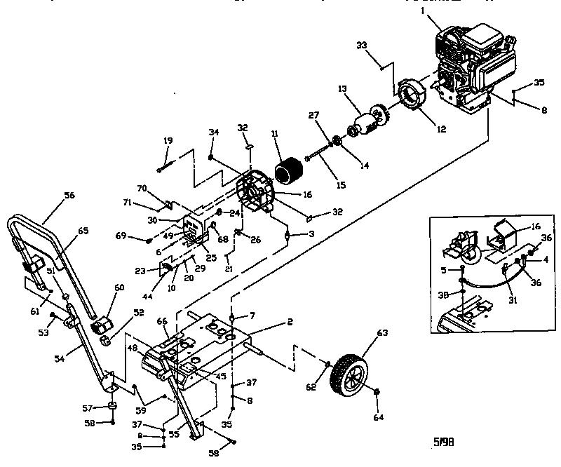 Craftsman model 580327750 generator genuine parts