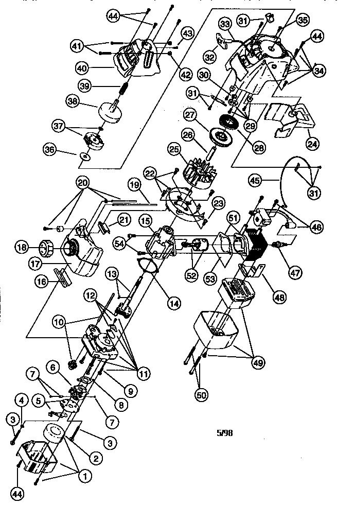 Craftsman model 316790110 line trimmer/weedwacker