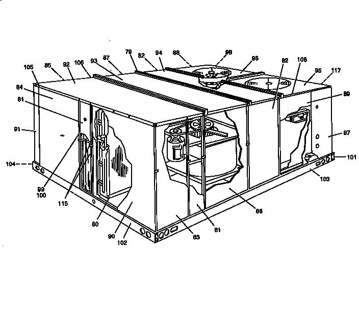 York model B1CH180A25A air-conditioner/heat pump(outside