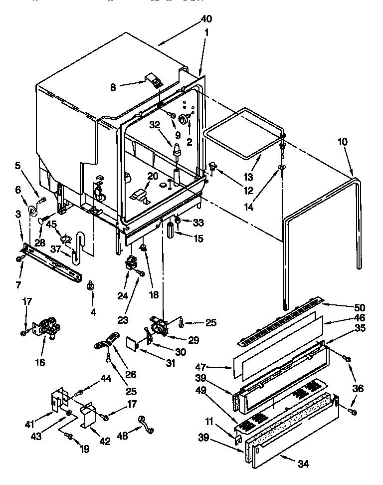 Wiring Diagram: 31 Kenmore Dishwasher Model 665 Parts Diagram