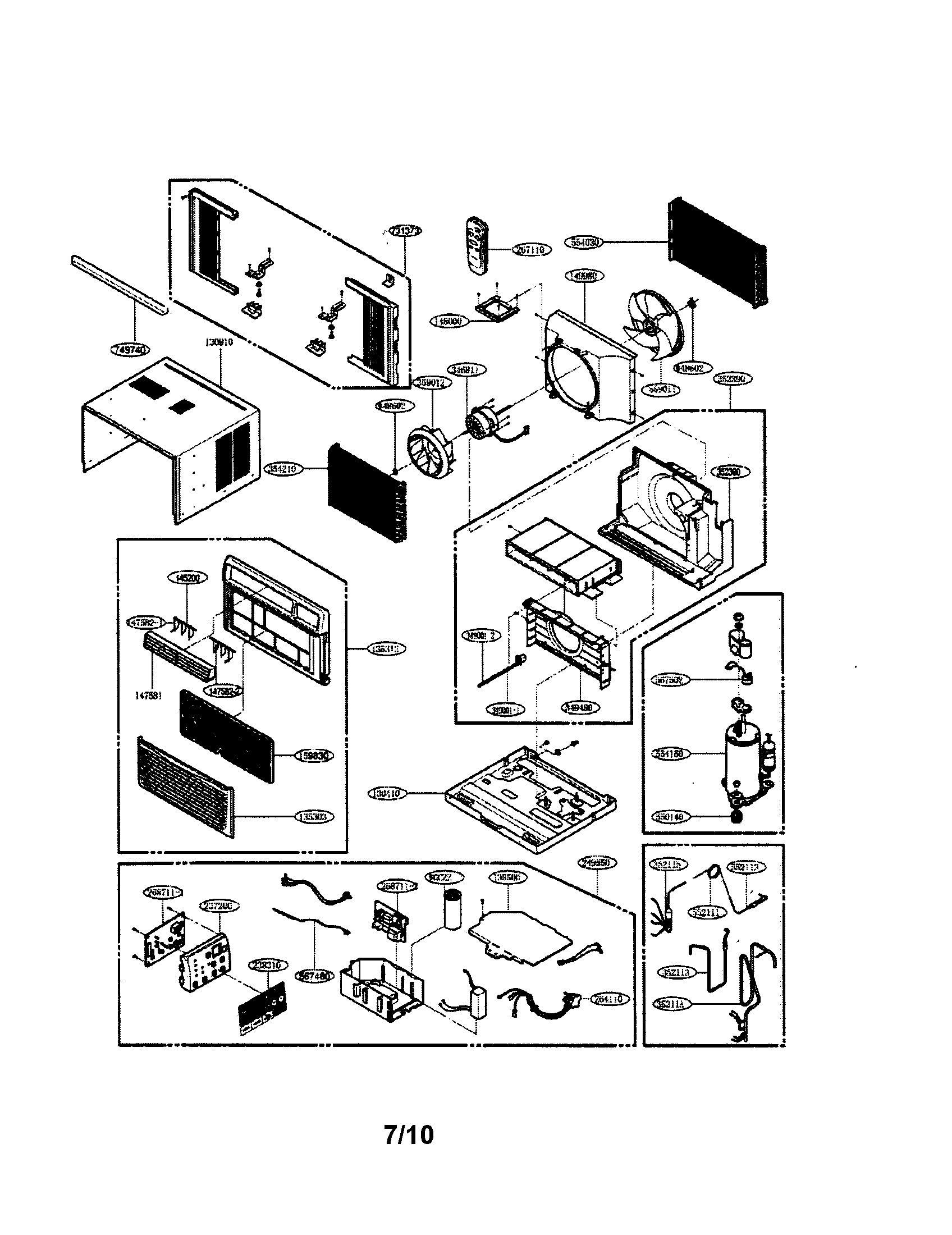 Lg Air Conditioner Parts Manual