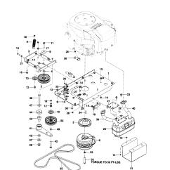 Husqvarna Lawn Mower Parts Diagram 2006 Chevrolet Cobalt Wiring Model Mz6128zt 966613101 Riding Rear Engine