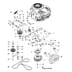 Husqvarna Lawn Mower Parts Diagram Mast Rigging Model Mz6128zt 966613101 Riding Rear Engine