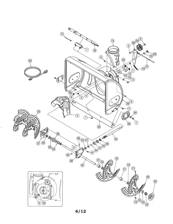Model 24788173 | CRAFTSMAN SNOW THROWER Parts