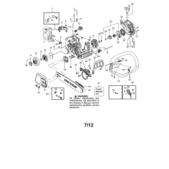 Craftsman Chainsaw Carburetor Diagram Kawasaki Jet Ski Parts Chain Saw Model 358341950 Sears