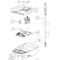 Genie Garage Door Parts Diagram Kenmore Elite Dishwasher Wiring Model 3022 Opener Genuine