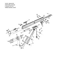 Genie Garage Door Parts Diagram Kenworth T800 Wiring Opener Model Cm8500s Sears