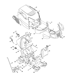 Craftsman Lawn Tractor Parts Diagram W124 E220 Wiring Riding Mower Model 502254280