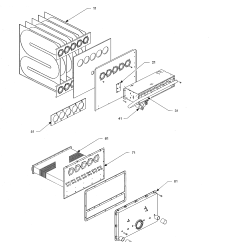 Goodman Furnace Parts Diagram Wiring Circuit Breaker Panel Model Gmpn100 4 Heater Gas Genuine