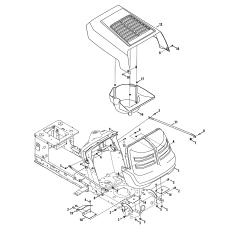 Mtd Yardman Wiring Diagram Ac Generator Tractor Parts Model 13a2775s000 Sears Partsdirect