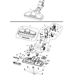 Kenmore Elite Parts Diagram 2008 Gmc Sierra Wiring Kenmore-elite Model 11621814410 Vacuum, Canister Genuine