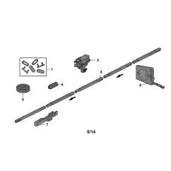 3 4 Hp Craftsman Garage Door Opener Wiring Diagram Waterfall Development Parts Model 1393043 Sears
