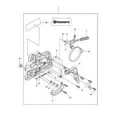 Husqvarna Chainsaw Fuel Line Diagram Truck Lite Led Wiring 2 Model 435 Gas Genuine Parts