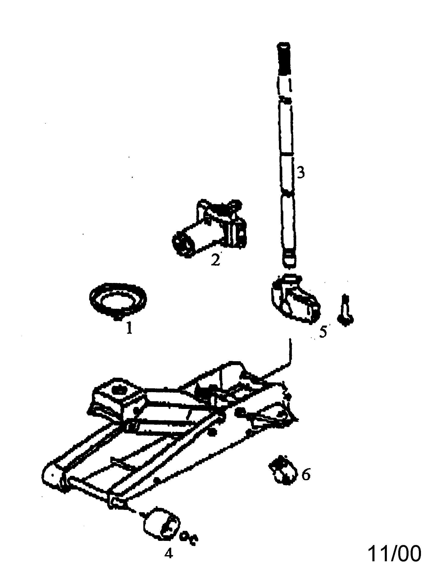 Craftsman model 21450145 jack hydraulic genuine parts
