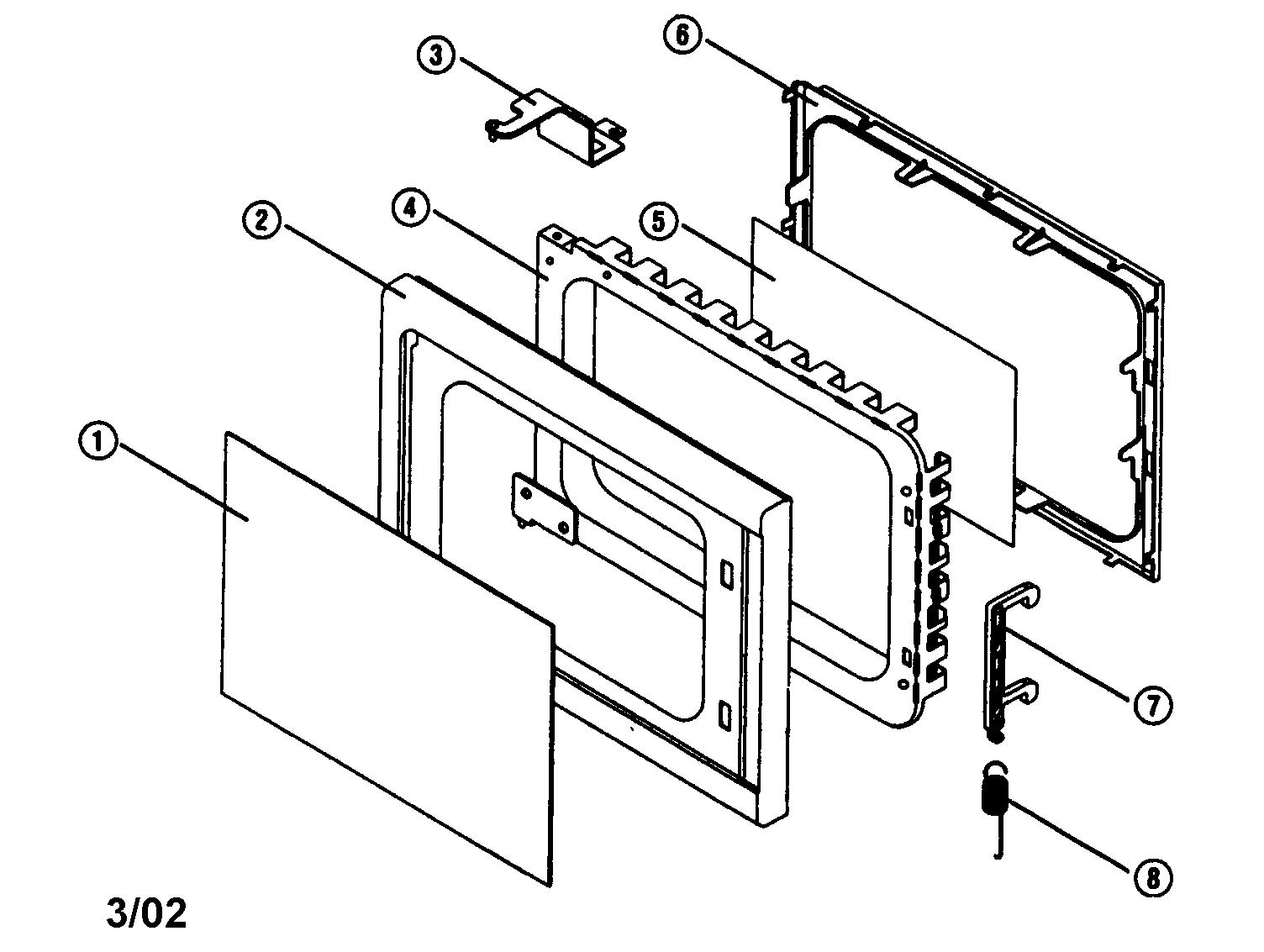 Emerson model MW8985S countertop microwave genuine parts