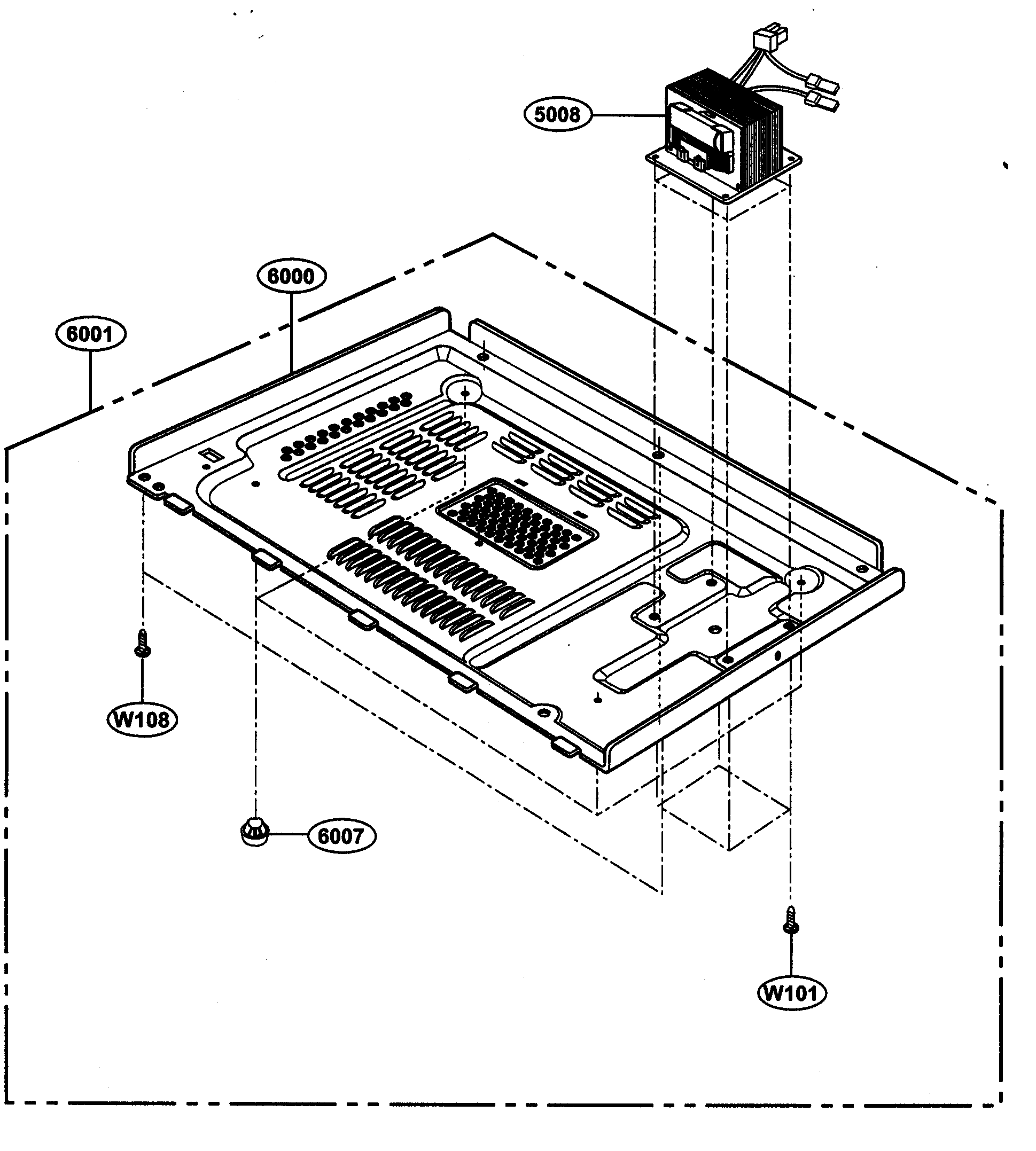 Kenmore model 72163109300 countertop microwave genuine parts